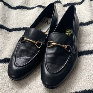 NWT Zara Horsebit Leather Loafers size 40